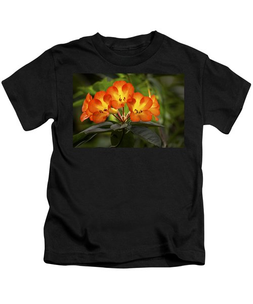 Tropical Rhododendron Kids T-Shirt