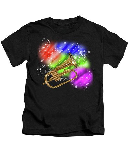 Trumpet Celebration Kids T-Shirt