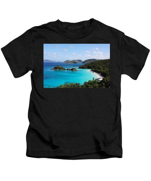 Trunk Bay, St. John Kids T-Shirt