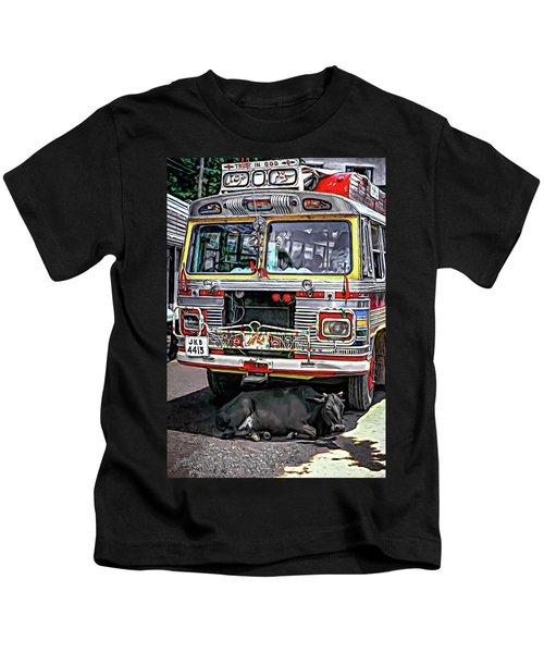 Trust In God - Paint 2 Kids T-Shirt