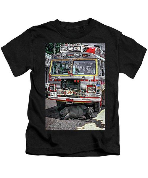 Trust In God Kids T-Shirt