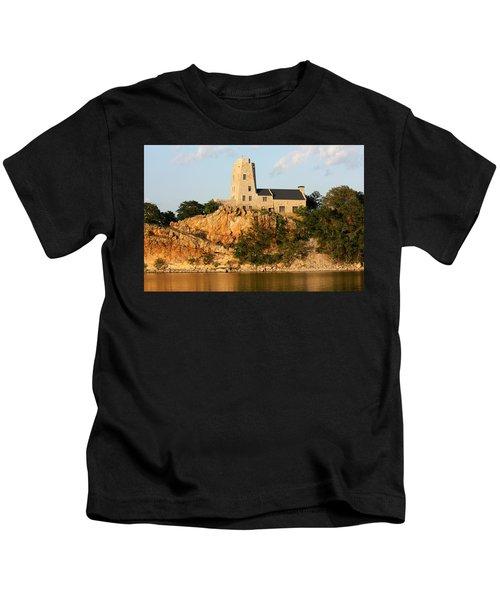 Tucker's Tower Lake Murray Oklahoma Kids T-Shirt
