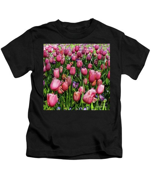 Tulip Flowers  Kids T-Shirt