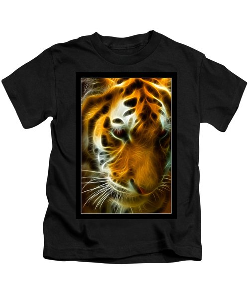 Turbulent Tiger Kids T-Shirt