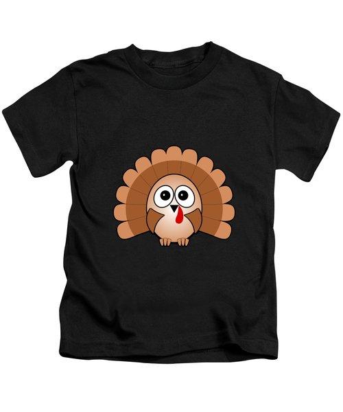Turkey - Birds - Art For Kids Kids T-Shirt
