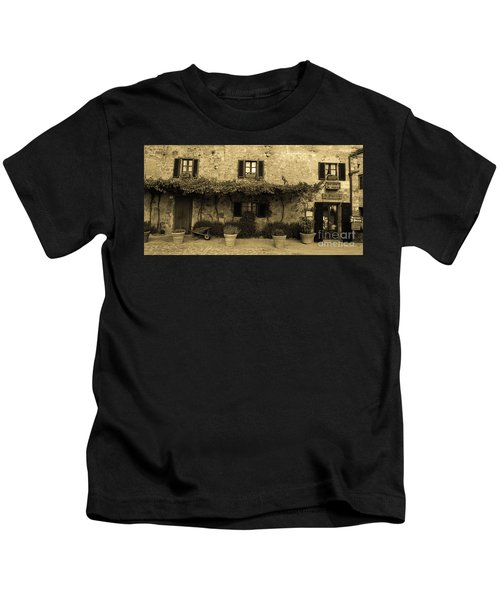 Tuscan Village Kids T-Shirt
