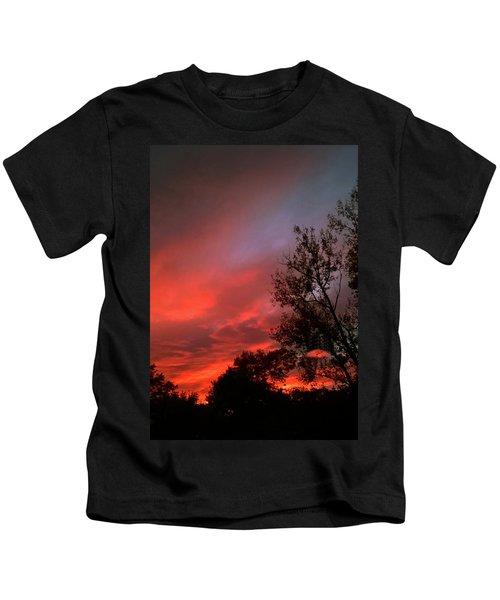 Twilight Fire Kids T-Shirt