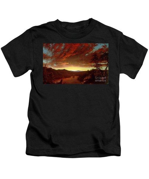 Twilight In The Wilderness Kids T-Shirt