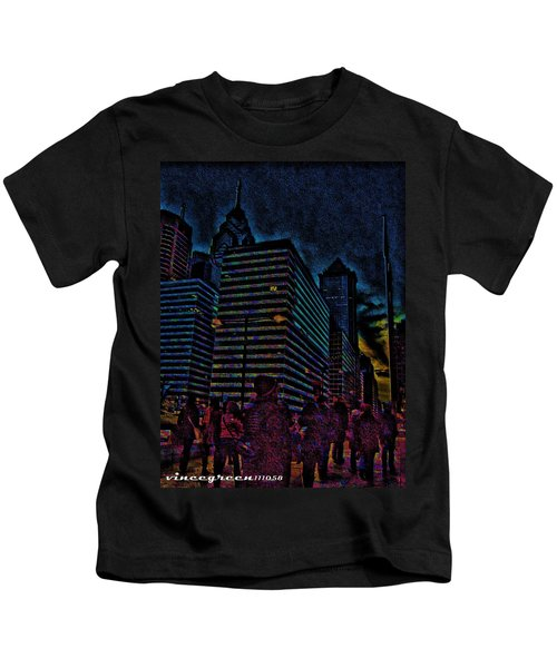 Twilight Of Uncertainty Kids T-Shirt