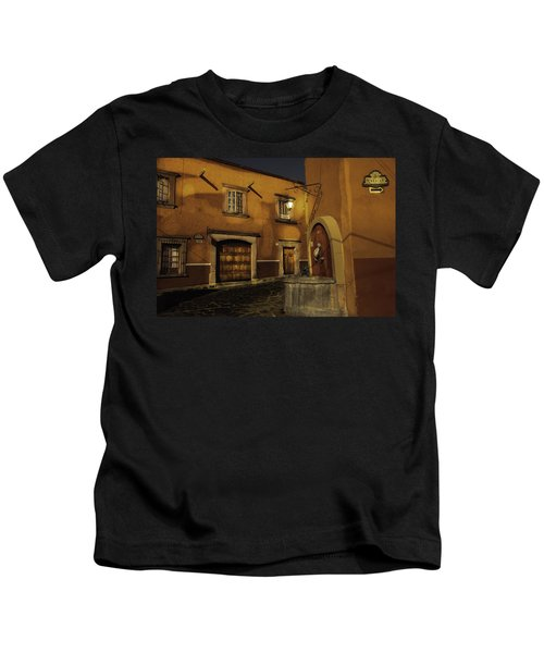 Twilight On The Corner Kids T-Shirt