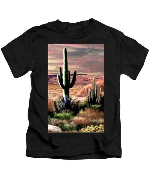 Twilight On The Desert Image 3 Kids T-Shirt