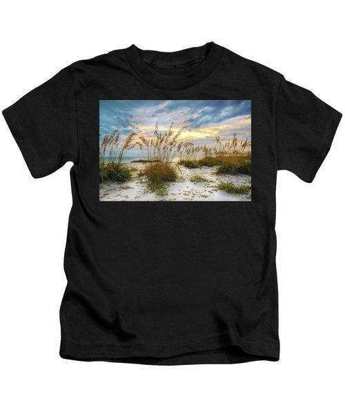 Twilight Sea Oats Kids T-Shirt