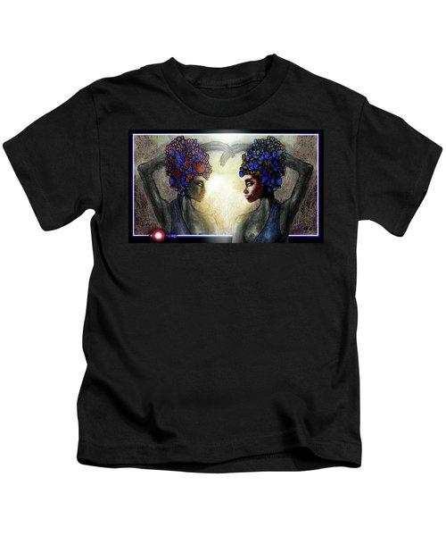 Twin Sisters Kids T-Shirt