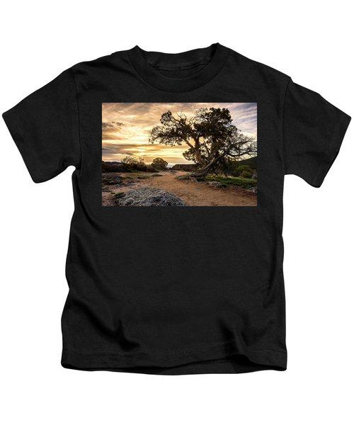 Twisted Sunset Kids T-Shirt