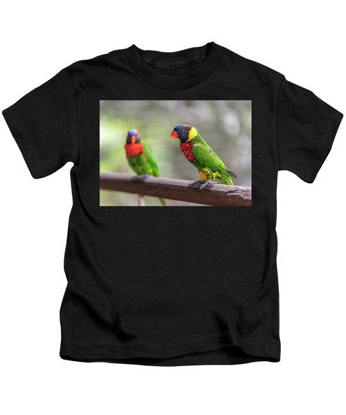Two Parrots Kids T-Shirt