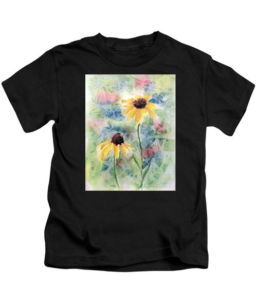 Two Sunflowers Kids T-Shirt