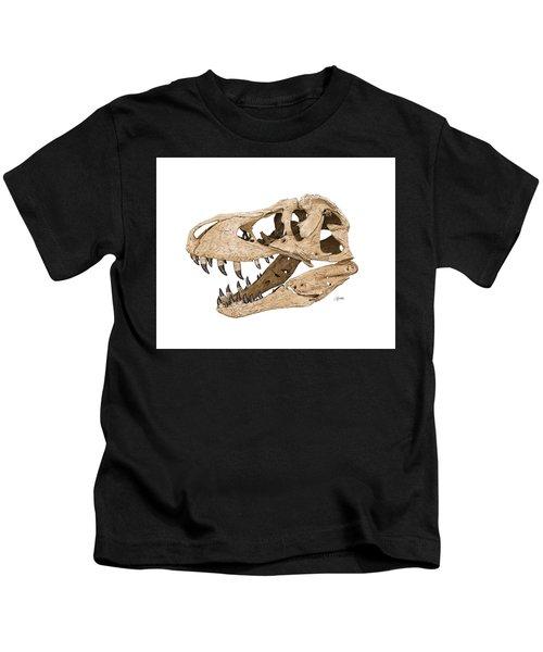 Tyrannosaurus Skull Kids T-Shirt