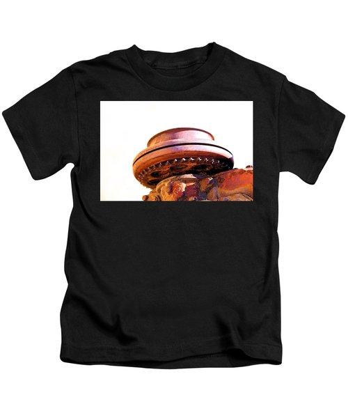 Ufo Landing At Joshua Trees Kids T-Shirt