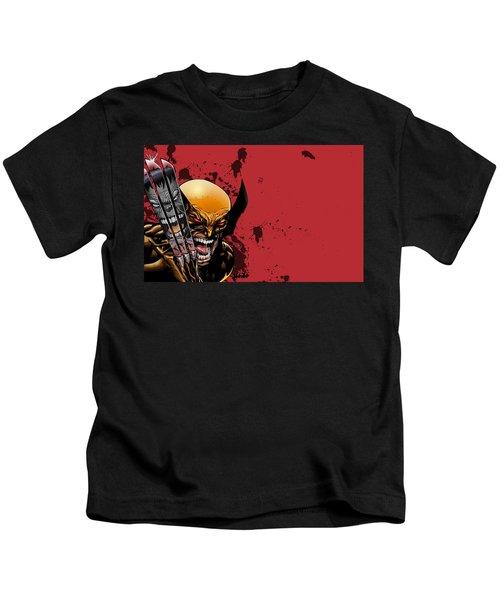 Ultimate Wolverine Vs. Hulk Kids T-Shirt