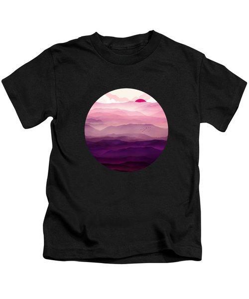 Ultraviolet Day Kids T-Shirt