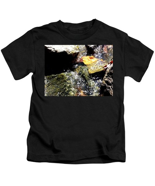 Under The Glass Of Water Kids T-Shirt