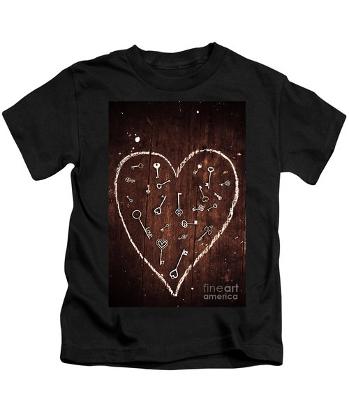Under The Spell Of Love Kids T-Shirt