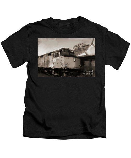 Union Station Train Kids T-Shirt