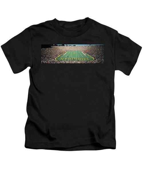 University Of Michigan Stadium, Ann Kids T-Shirt