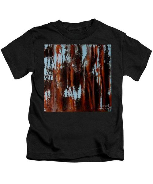 Sunset Of Duars Kids T-Shirt