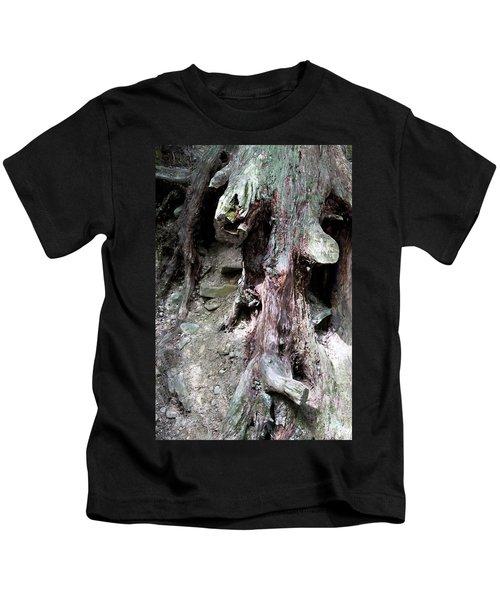 Unusual Tree Root Kids T-Shirt