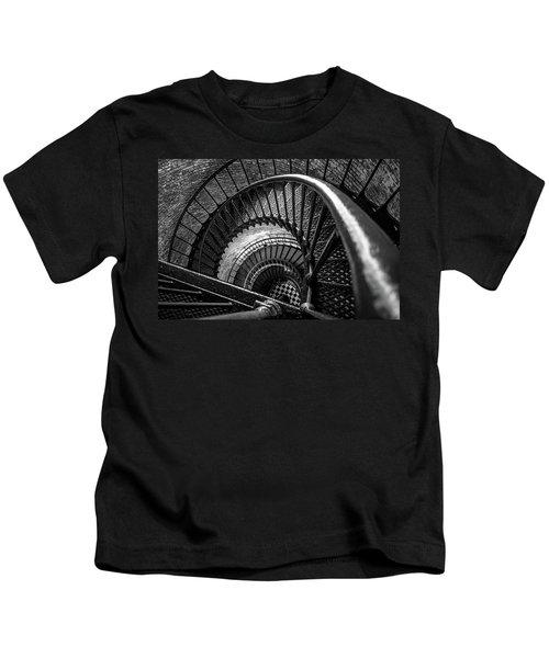 Unwind  - Currituck Lighthouse Kids T-Shirt
