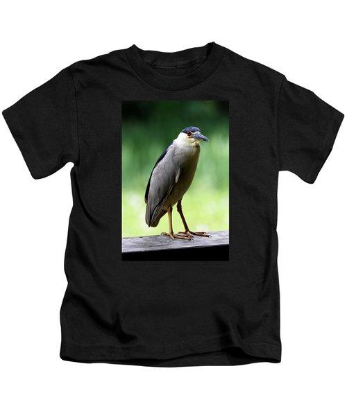 Upstanding Heron Kids T-Shirt