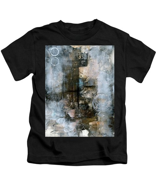 Urban Abstract Cool Tones Kids T-Shirt