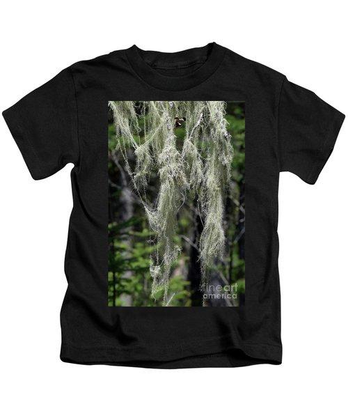 Usnea Cascade Kids T-Shirt
