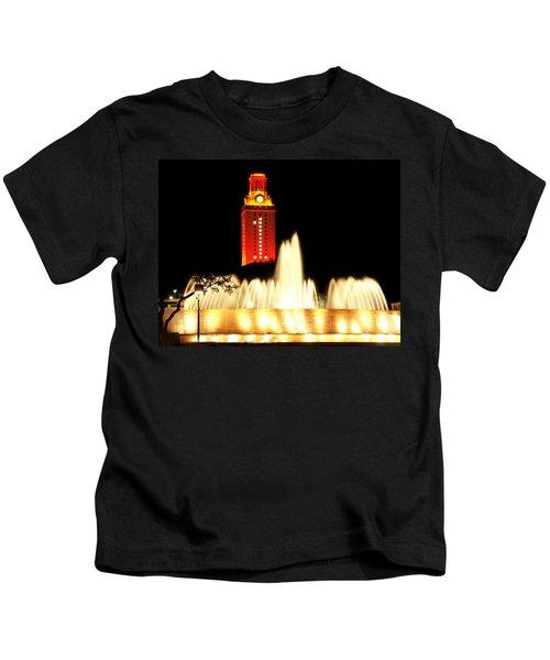 Ut Tower Championship Win Kids T-Shirt
