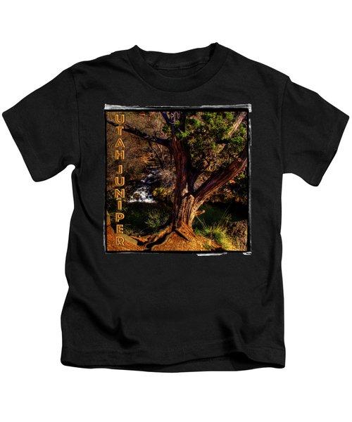 Utah Juniper On Oak Creek Outside Sedona Az Kids T-Shirt