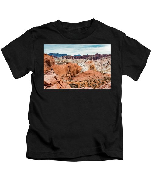 Valley Of Fire  Kids T-Shirt