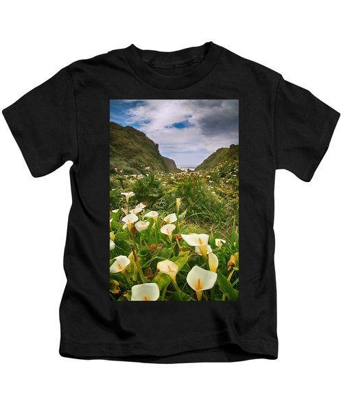 Valley Of The Lilies Kids T-Shirt