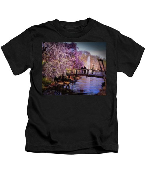 Van Gogh Bridge - Reston, Virginia Kids T-Shirt
