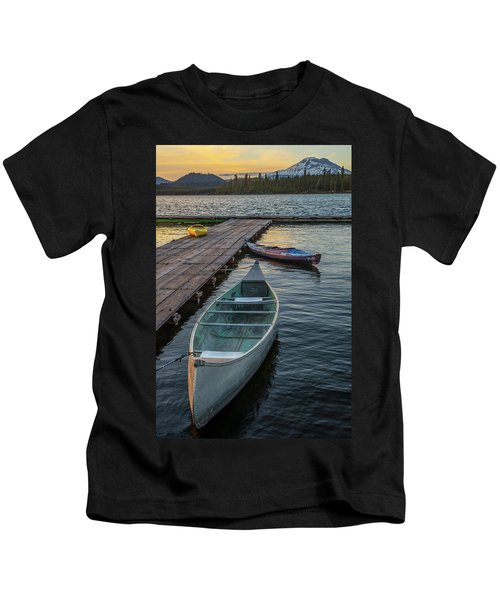 Variation On A Theme At Lava Lake Kids T-Shirt