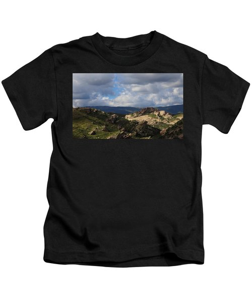 Vasquez Rocks Natural Area Kids T-Shirt