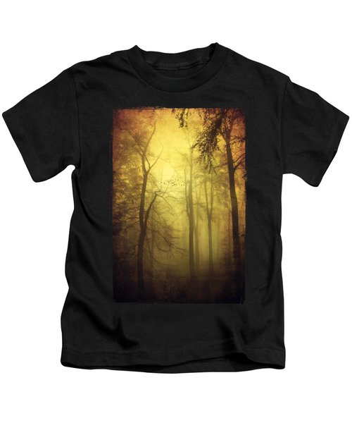 Veiled Trees Kids T-Shirt