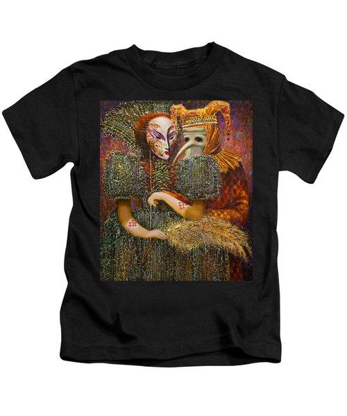 Venetian Masks Kids T-Shirt
