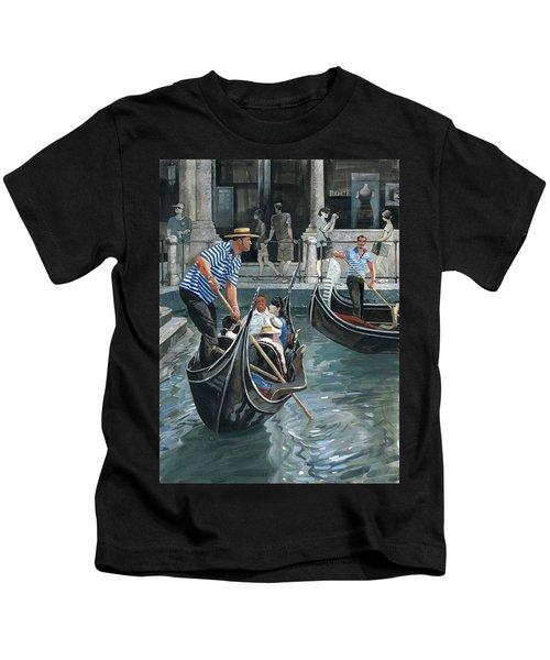 Venice. Il Bacino Orseolo Kids T-Shirt