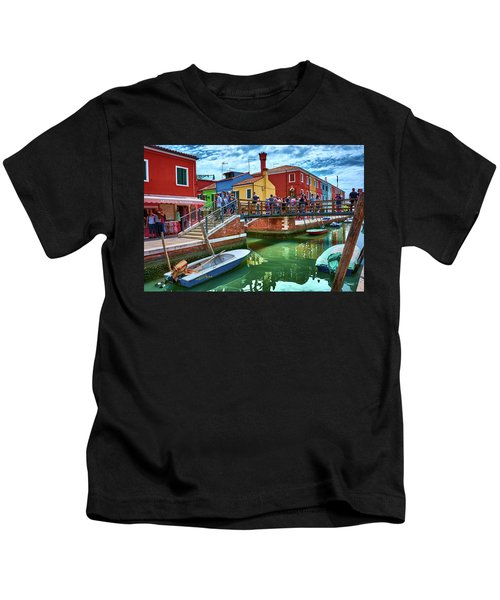 Vibrant Dreams Floating In The Air Kids T-Shirt