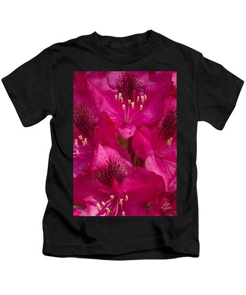 Vibrant Pink Kids T-Shirt
