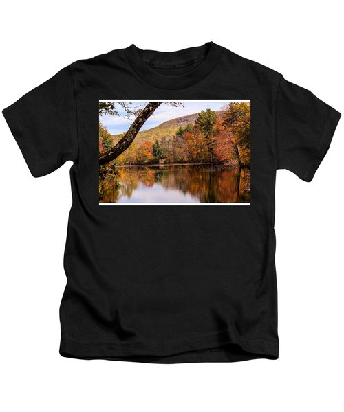 View From Manhan Rail Trail Kids T-Shirt