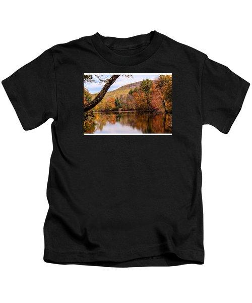 View From Manhan Rail Trail Kids T-Shirt