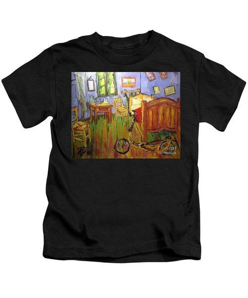 Vincent Van Go's Bedroom Kids T-Shirt