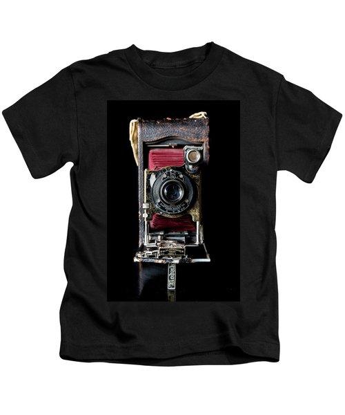 Vintage Bellows Camera Kids T-Shirt